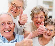 Older People Thumbs Up not resistance
