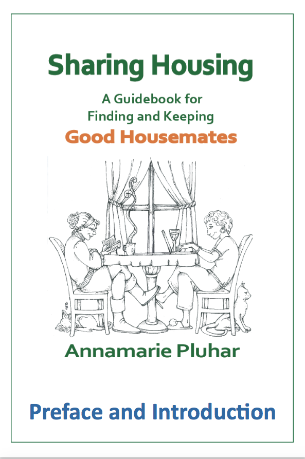 Cover for Preface and Introduction of Sharing Housing, A Guidebook for Finding and Keeping Good Housemates