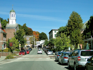 Location New England town