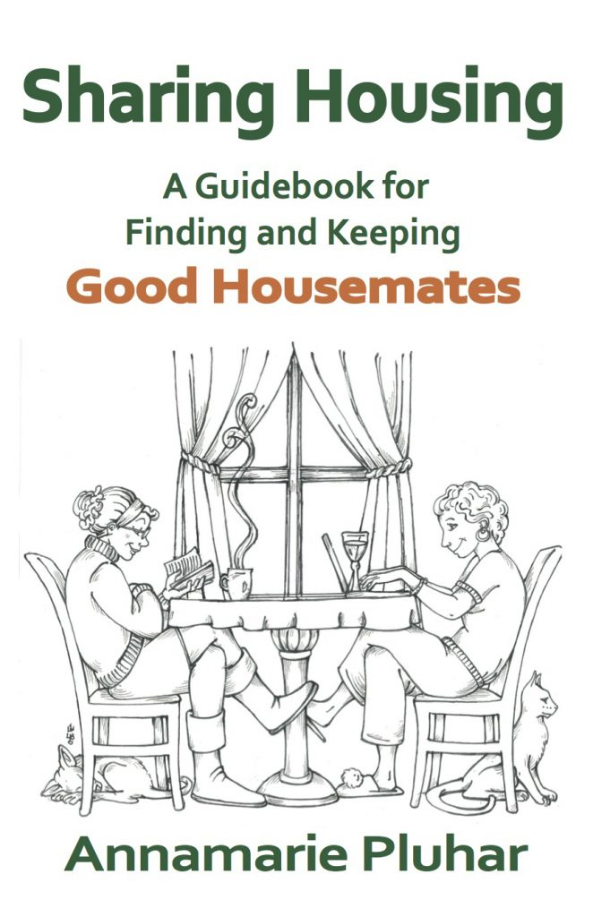 Sharing Housing, A Guidebook for Finding and Keeping Good Housemates cover