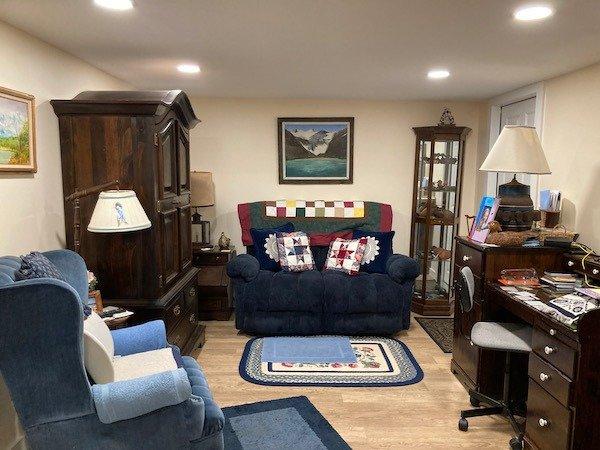 Living room ADU