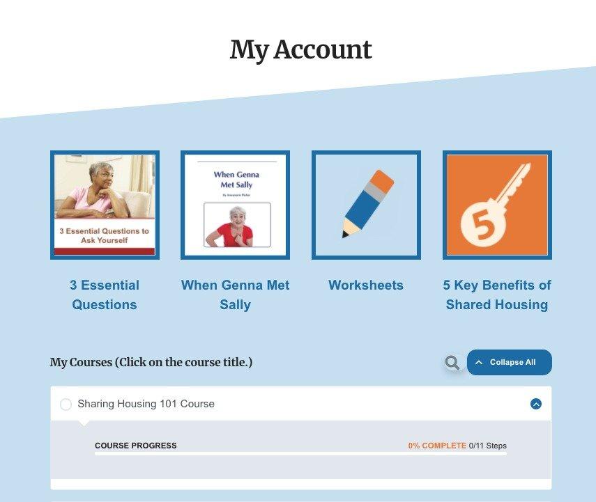 May Account Page image